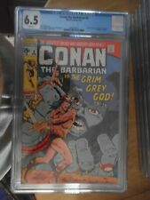 conan the barbarain 3 cgc 6.0.rare and a scarce issue non distributed in the uk