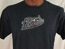 125th Kentucky Derby 1999 Blue Embroidered Graphic T Shirt Cotton XL X-Large USA
