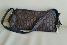 Fossil handbag canvas /leather small