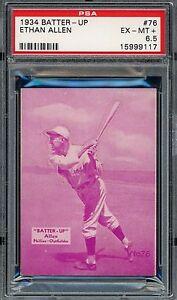 1934 Batter-Up #76   Ethan Allen   Phillies     PSA 6.5 !!!!