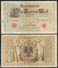 Germany 1000 Mark Big Size Note Rare Item More than 100 years old note  # 383