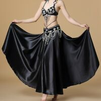 Arabic Belly Dancer Beaded Bra Top Hip Belt Slit Skirt Suit Set Festival Costume