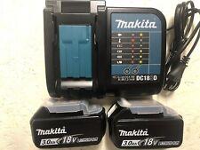 2 Batteries Makita 3,0 Ah Plus Chargeur neuf Jamais Servi