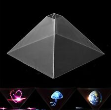Stand 3D Holographic Display Pyramid Projector for Suitable for Smart Cell Phone