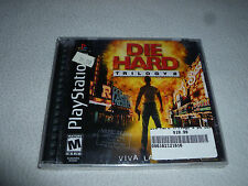 BRAND NEW FACTORY SEALED PS1 PLAYSTATION VIDEO GAME DIE HARD TRILOGY 2 NFS