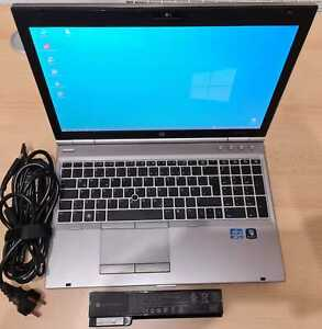 HP EliteBook 8560p Notebook Laptop, Win 10 Pro, 8 GB RAM, Samsung SSD