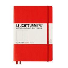 Leuchtturm1917 313627 Carnet Medium (a5) 249 pages Numérotées Rouge po ...
