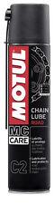 26,-€/l Motul Chain Lube Road 400 ml Kettenspray für Straßeneinsatz