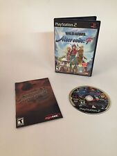 Wild Arms: Alter Code F Game w/ Manual Sony PlayStation 2 PS2 2005 TESTED