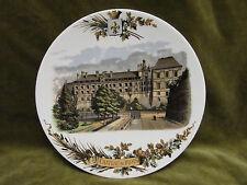 assiette à dessert faience Sarreguemines U&C décor chateau de Blois