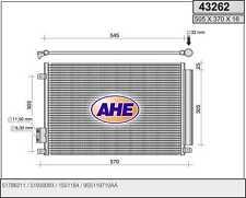 Condensatore FIAT 500 C (312) 1.3 D Multijet 55kw 09-