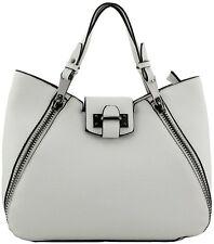 Women's Donna Bianco Fashion Celebrità Borsa Designer Look borsetta elegante borsa a mano