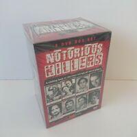 Notorious Killers (8 Disc) DVD Box Set Serial Killers Gift