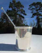1961 Y-Flyers Internationals Sailing Silver plate Trophy Cup - Charleston, SC