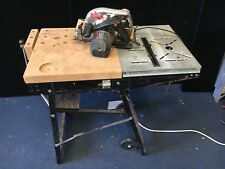 Skilsaw 5366 classic circular saw & Table / Fold away work bench 240V 1350W 66mm