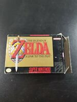 The Legend of Zelda: A Link to the Past (SNES, 1992) Complete w/ Box Manual Map