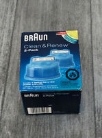 Braun Shaver CCR-2 Clean and Renew Refill Cartridges 2 Pack