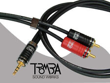 TROMBA OCC IPD-CABLE 3.5 to 2RCA headphone cable 1.5Meter