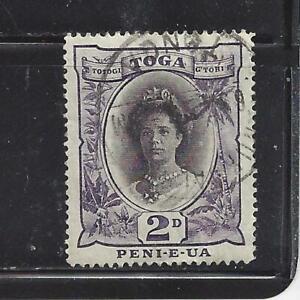 TONGA - 55 - USED - 1920 - QUEEN SALOTE