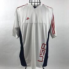 Adidas Usa Fifa World Cup 2006 Climalite T-Shirt White Mens Medium