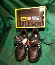 Vintage New Wilson Size 3 Baseball Boys Cleats