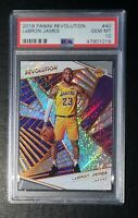 2018 Panini Revolution #40 LeBron James Lakers PSA 10 GEM MT (New Holder) 💎💎