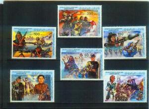 Recht seltener Satz Briefmarken aus Libyen, MI 1191-1197, postfrisch