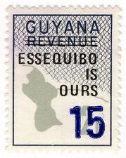 (I.B) British Guiana (Guyana) Revenue : Duty Stamp 15c on 2c OP