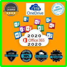 MS Office 365 Pro Plus ✅LIFETIME ACCOUNT✅5 DEVICES✅ 5TB ONEDRIVE