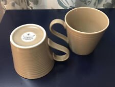 New Set of 2 Gordon Ramsey Maze Taupe Royal Doulton Cups Mugs - 7 sets available