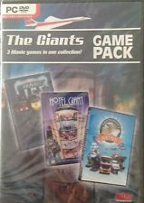 NEW Giants Game Pack: Hotel Giant, Traffic Giant & Transport Giant PC DVD