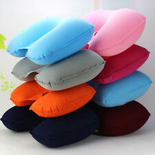 New Flight Travel Air Cushion Head Support Car Head Neck Rest Compact  Pillow