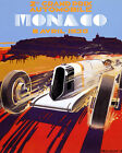 Monaco Monte Carlo April 1930 Car Race Grand Prix 16X20 Poster Repro FREE SH