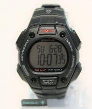 Timex Men's Ironman Classic 30 Full-Size Black Resin Strap Indiglo Wrist Watch