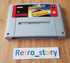 Super Nintendo SNES Lamborghini American Challenge PAL