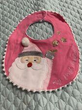 New listing Mud Pie My First Christmas Baby Girl Bib
