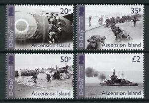 Ascension Island Military & War Stamps 2019 MNH WWII WW2 D-Day 75th Anniv 4v Set