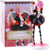 Re Zero Ram Re:Life in a Different World Ram in Wonder Land Furyu SSS Figure