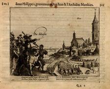 Antique Print-BINS-BELGIUM-WAR-Baudartius-1616