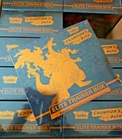 Pokemon TCG Champion's Path Elite Trainer Box ETB New Factory Sealed In Stock