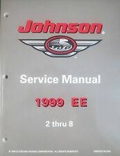 1999 Johnson 2 2.3 3.3 4 5 6 8 HP Outboard Factory Shop Service Repair Manual