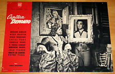 fotobusta film CAPITAN DEMONIO Mary Martin Adriano Rimoldi 1949