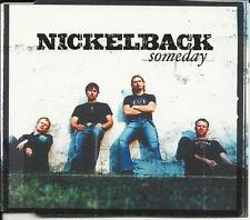 NICKELBACK Someday ACOUSTIC & VIDEO & UNRELEASED TRK 2003 CD single USA seller