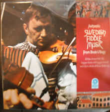 LP AUTHENTIC SWEDISH FIDDLE MUSIC FROM BODA VILLAGE   VANGUARD NOMAD SERIES