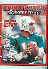 DAN MARINO SPORTSCARD MARKET REPORT MAGAZINE MARCH,2001