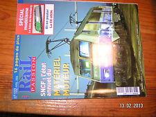 $ Rail Passion n°102 Nuremberg Miramas - Golfe de Fos CC65500 ETR 500 Logo SNCF