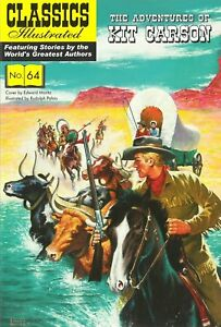 UK Classics Illustrated #64 - Adventures of Kit Carson - March 2017, New Copy!