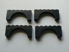 Lego 4 arches noires set 8823 8462 7783 6079  / 4 black brick arch