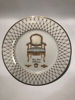 """Lenox French Chairs Collection 10 3/8"""" Plate - Italian Baroque"""