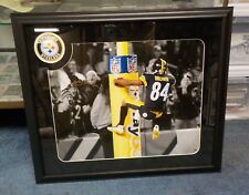 "FRAMED MATTED 27"" X 23"" ANTONIO BROWN AUTOGRAPH SIGNED PICTURE COA SWEET LOOK"